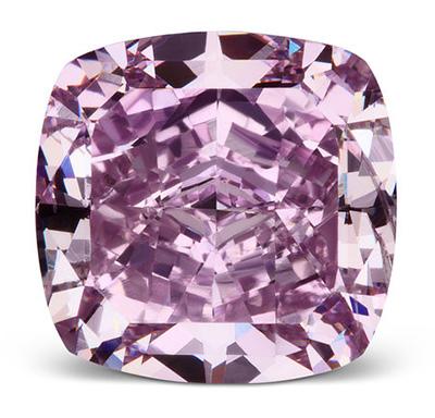 1.64-Carat, Cushion-Cut, Victoria Orchid Vivid Purple Diamond