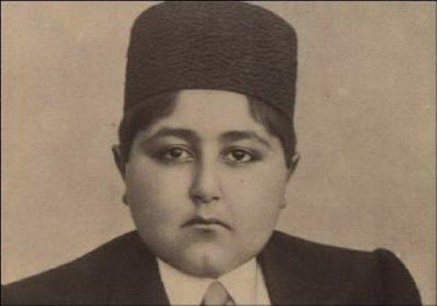 13-year old chubby Ahmed Shah Qajar
