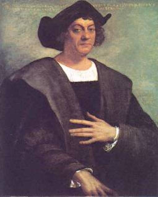 1519 Posthumous portrait of Christopher Columbus by Sebastino del Piombo