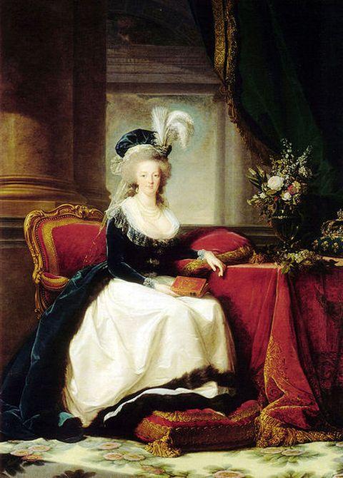 1788-Portrait of Marie Antoinette also by Elisabeth Brun