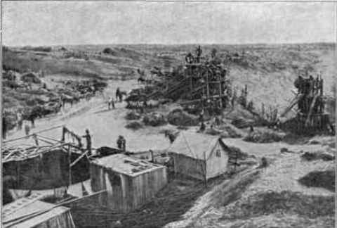 1873-Photograph of the Kimberley mine