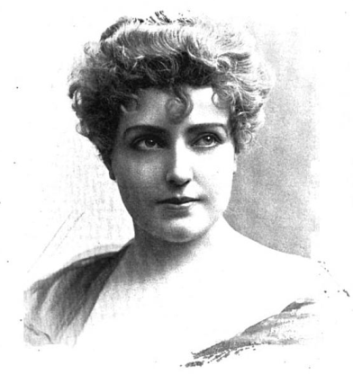 1897 photograph of Lilian Russel