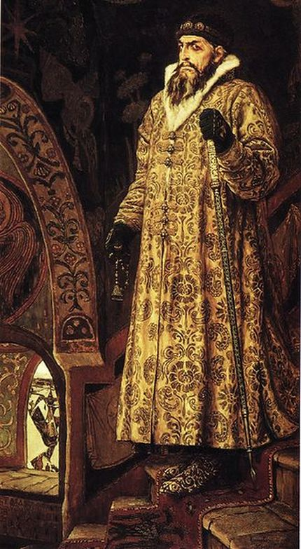 1897-Portrait of Ivan IV by Viktor Vasnetsov