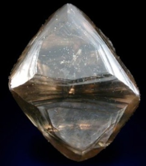 2.93-carat dark honey-brown colored diamond discovered by Royce Walker in 2009