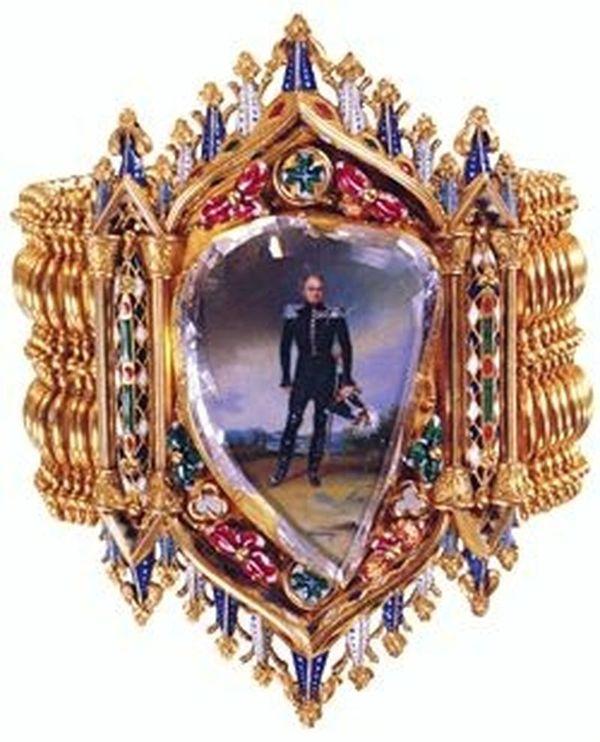 Russian Table Portrait Diamond