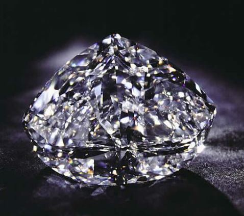 273.85-carat, D-color, Internally Flawless, Modified Heart-Shaped Centenary Diamond