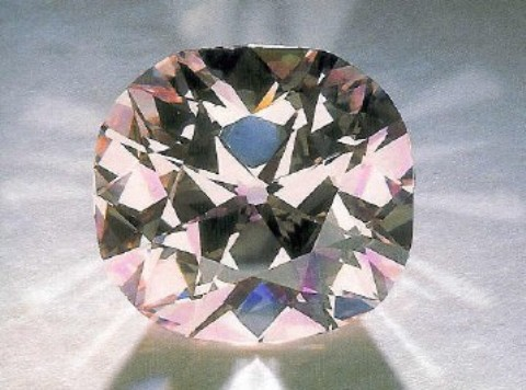 28.15-carat, fancy light pink, cushion-cut, Agra Diamond