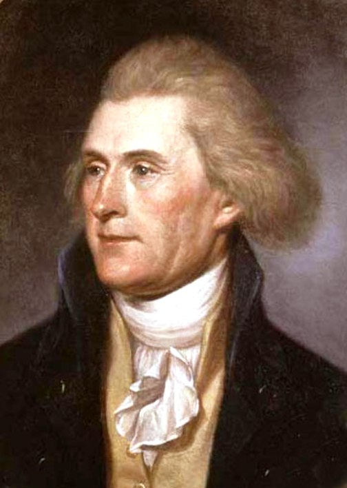 Thomas Jefferson- Secretary Of State Under George Washington & 3rd President Of The United States