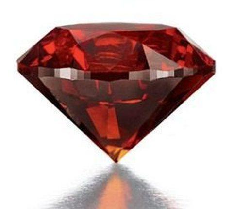 side-view-of-3.15-carat-circular-cut-reddish-orange-diamond