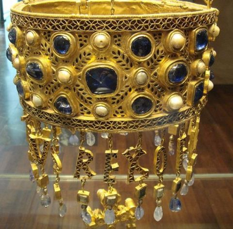 Votive Crown belonging to King Recceswinth