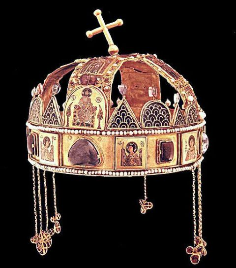 Holy Crown of Hungary- Crown of St. Stephen