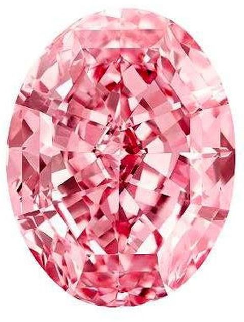 59.60-carat, oval mixed-cut, fancy vivd pink, internally flawless Steinmetz Pink aka Pink Star diamond