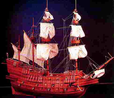 A Spanish Galleon