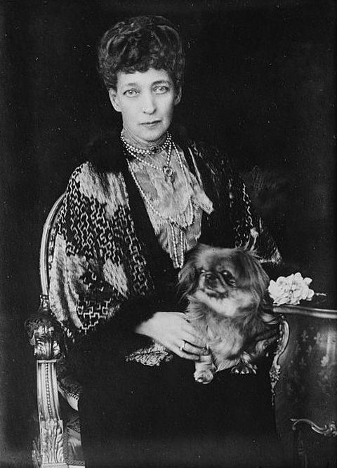 Queen Alexandra of Denmark in 1923 at the age of 79 years
