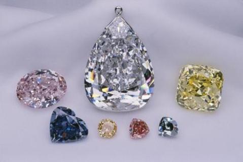The Allnatt diamond exhibited as part of the Splendor of Diamonds exhibition