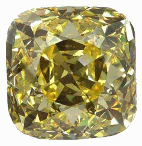 The cushion-cut Alnatt diamond