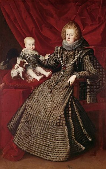 Maria Anna of Spain - wife of Ferdinand III, Holy Roman Emperor (1637-1657)