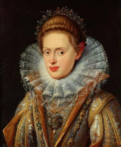 Anna of Tyrol - wife of Matthias, Holy Roman Emperor (1612-1619)