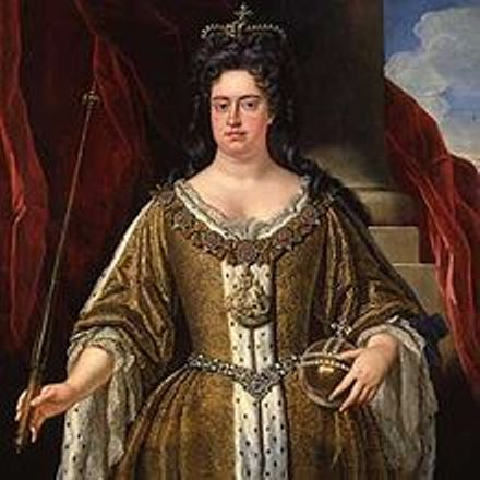 1702-Portrait of Queen Anne after she ascended the throne as Queen