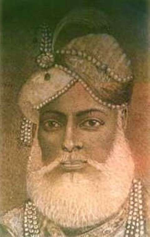 Another Portrait of Muhammad Ali Khan Walajah
