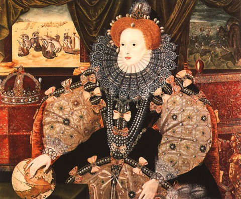 Armada Portrait of Queen Elizabeth the I