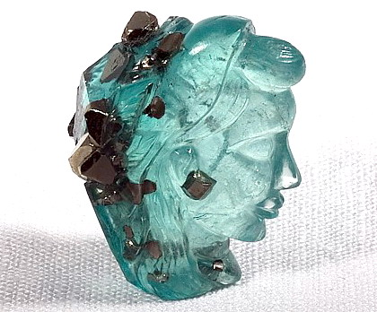Ashok Kumar Sanchetis Carved Emerald at the Smithsonian