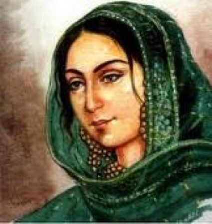 Begum Hazrat Mahal - Wife of King Wajd Ali Shah