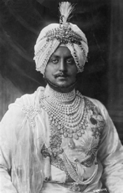 Bhupinder Singh, Maharajah of Patiala from 1900-1938. The famous Patiala Diamond Necklace was designed during his period of rule.