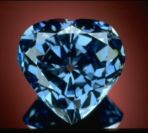 Begum Blue Diamond Famous Jewelry