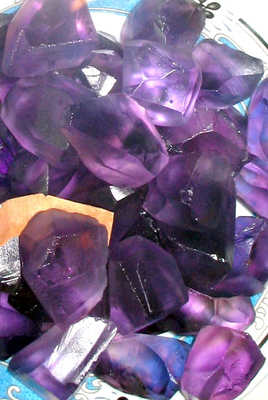 Bolivian Rough Amethyst Gemstones