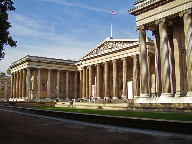 The British Museum where the Aphrodite Pin is exhibited