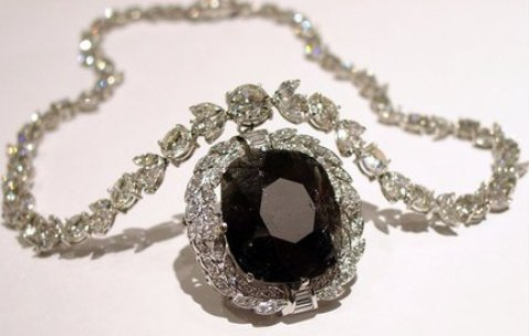 Cartier's Black Orloff Diamond Necklace