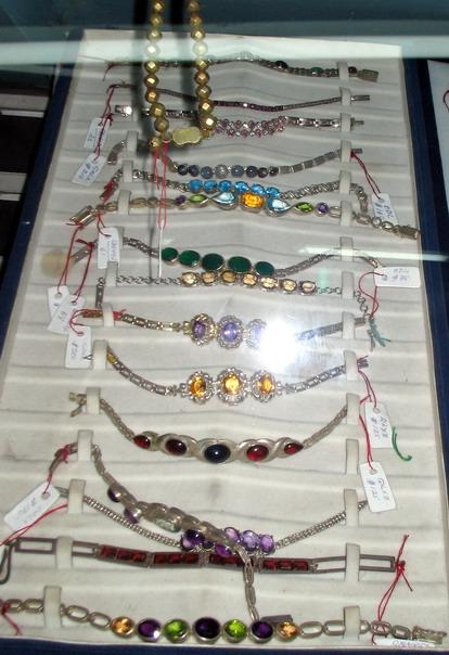 Natural Ceylon Gemstone bracelets