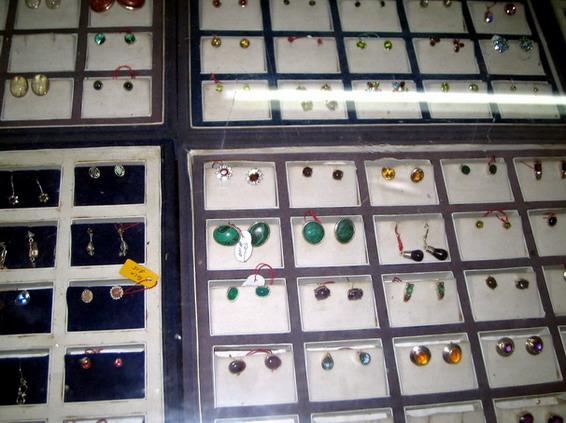 gemstone ear rings