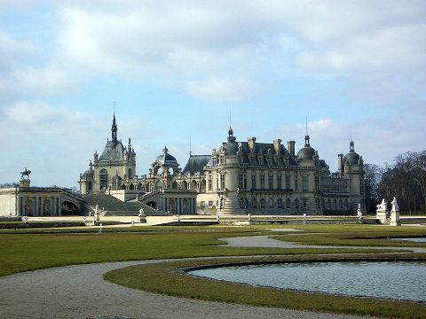 Picture of Chateau de Chantilly taken by Craig Patik in March 2005
