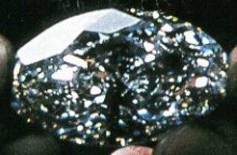 Close-up of the Beluga Diamond