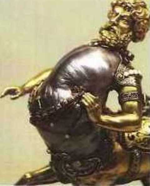 Enlarged Left-Side View of the Human Anterior Half of the Centaur