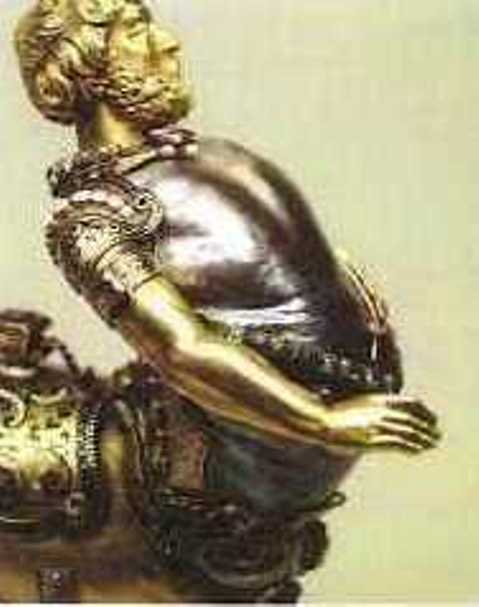 Enlarged Right-Side View of the Human Anterior Half of the Centaur