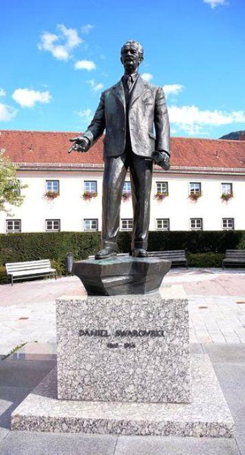 Daniel Swarovski -Founder of Swarovski crystals