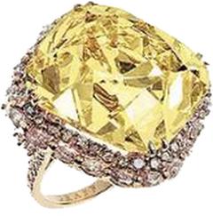 The Deepdene diamond ring