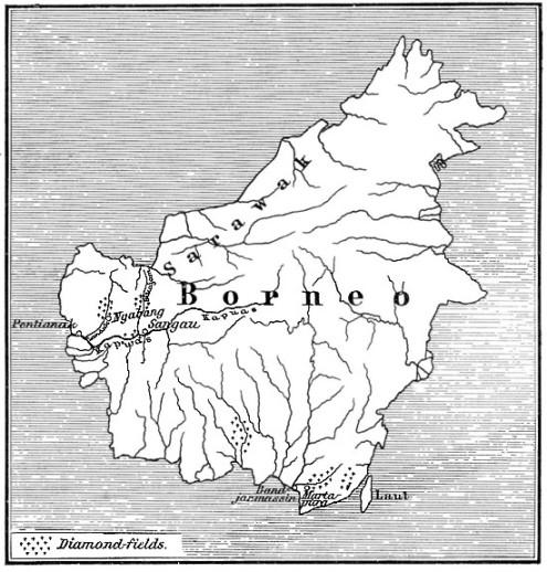 Diamond feilds of Borneo