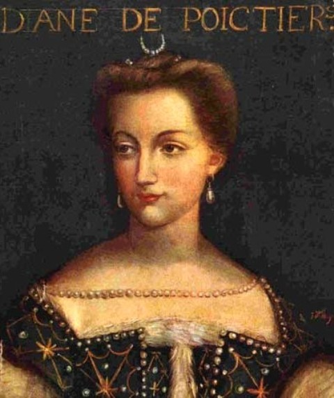 Diane de Poitiers - Mistress of King Henry II