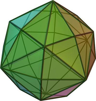 Disdyakisdodecahedron - rare diamond crystal form