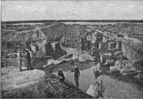 Dutoitspan mine in 1874
