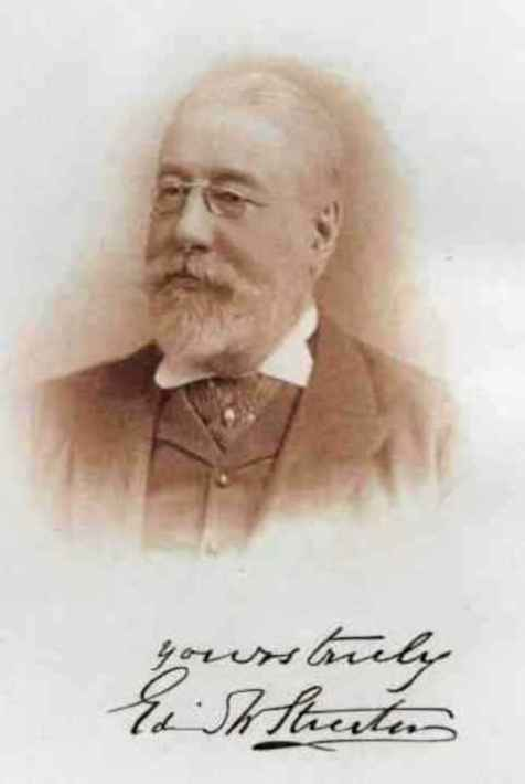 Edwin Streeter - Photograph taken from his book Precious Stones and Gems, their history, sources and characteristics, published in 1898