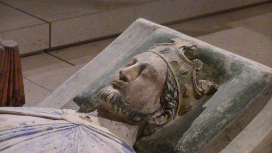 Effigy of Richard I of England in the Church of Fontevraud Abbey