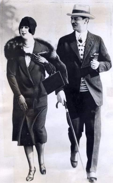 Elena Lupescu and Carol II