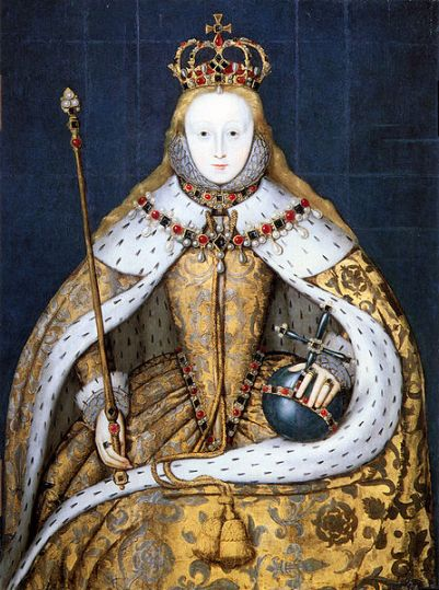 Elizabeth I  as  Princess around 1546
