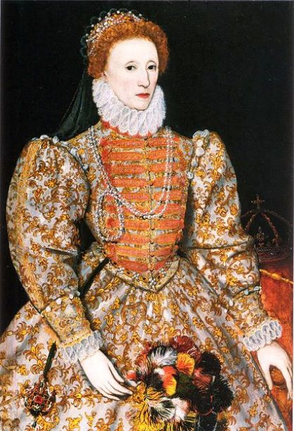 Elizabeth I, 5th and last Tudor Monarch of England