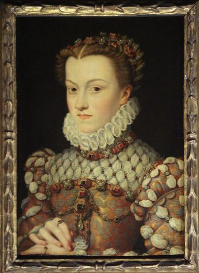 Elizabeth of Austria, wife of Charles IX of France (156--1574)